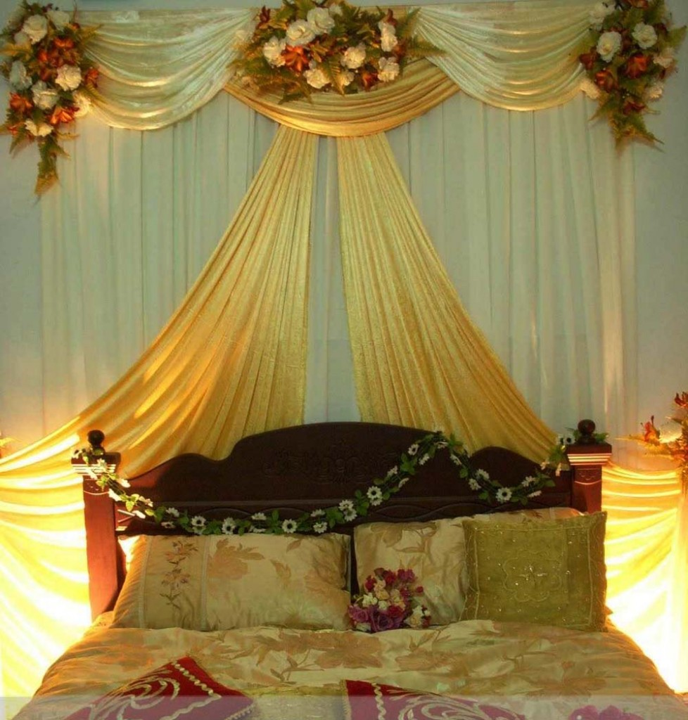 South east asian wedding chocoberry catering weddings for Asian wedding bed decoration ideas